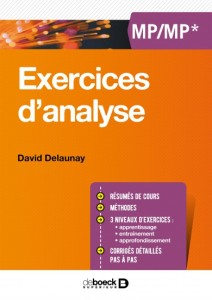 exercices d'analyse